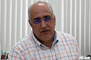 Secretário de Planejamento, José Barbosa. (Foto: Thyago Leão/Blog Nossa Vitória)