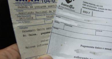 Boletos poderão ser pagos em qualquer banco após o vencimento